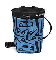 Black Diamond Gym Chalk Bag - portamagnesite, Blue/Black