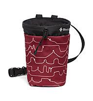 Black Diamond Gym Chalk Bag - portamagnesite, Dark Red