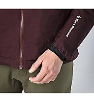 Black Diamond Heat Treat giacca WINDSTOPPER con cappuccio donna, Merlot