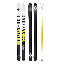 Black Diamond Helio Carbon 88 - sci da scialpinismo, White/Yellow/Black
