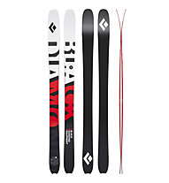 Black Diamond Helio Carbon 95 - sci da scialpisnimo/freeride, White/Red/Black
