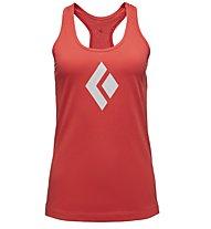 Black Diamond Icon - Trägershirt Klettern - Damen, Red
