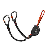 Black Diamond Iron Cruiser Via Ferrata Set, Black/Orange