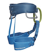 Black Diamond Kid's Momentum Harness - imbrago basso - bambino, Blue