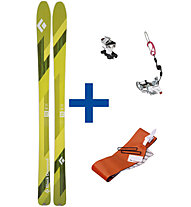 Black Diamond Black Diamond Link 90 Set: Ski + Bindung + Steigfelle