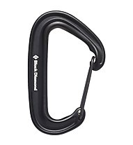Black Diamond Miniwire - Karabiner, Black