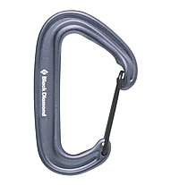 Black Diamond Miniwire - Karabiner, Gray