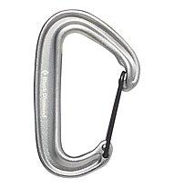 Black Diamond Miniwire - moschettone, Silver