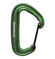 Black Diamond Miniwire - Karabiner, Green