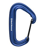 Black Diamond Miniwire - Karabiner, Blue