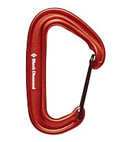 Black Diamond Miniwire - Karabiner, Red