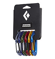 Black Diamond Miniwire Rackpack - Set Karabiner, Assorted