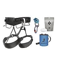 Black Diamond Momentum 4S Harness Package - Kletterpack, Grey