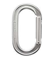 Black Diamond Oval Keylock - Karabiner, Silver