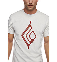 Black Diamond Rope Diamond - T-shirt arrampicata - uomo, White
