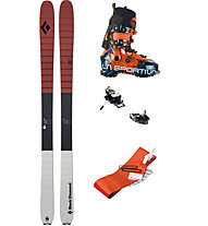 Black Diamond Set Freetour M: Ski+Bindung+Felle+Skischuhe