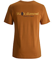 Black Diamond Diamond C - maglietta uomo, Copper