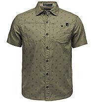 Black Diamond S/S Solution - camicia a maniche corte - uomo, Green