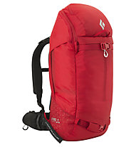 Black Diamond Saga 40 Jetforce - Lawinenrucksack, Red
