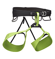 Black Diamond Solution Honnold Edition - imbrago arrampicata, Green/Black
