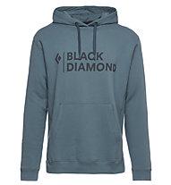 Black Diamond Stacked Logo Hoody - Kapuzenpullover - Herren, Blue