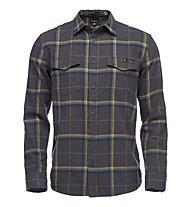 Black Diamond Valley LS Flannel - camicia a manica lunga - uomo, Blue