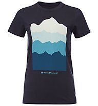 Black Diamond Vista - T-Shirt arrampicata - donna, Blue