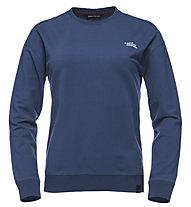 Black Diamond W Ridge Logo Crew - Pullover - Damen, Blue