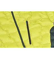Black Yak Maiwa Light - Daunenjacke mit Kapuze - Herren, Yellow/Green