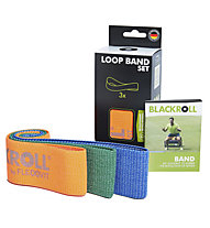 Blackroll Blackroll Loop Band Set - elastici fitness, Orange/Green/Blue