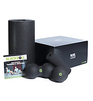 Blackroll Blackbox Set - Massagerollen, Black