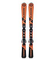 Blizzard Firebird JR (100-140 cm) + FDT JR 4.5 - sci alpino - bambino
