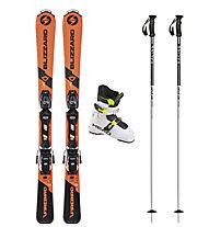 Blizzard Set Firebird JR 70-90 cm: sci + attacco + bastoncini + scarponi