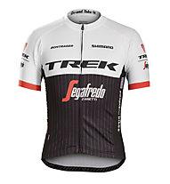 Bontrager Trek/Segafredo Replica Jersey Maglia Bici, White/Black