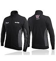 Boxeur Des Rues Felpa sportiva Giro d'Italia Felpa Zip Logo, Black