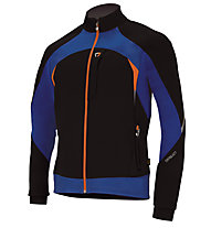 Briko Giacca Softshell ADV Jkt XC, Royal Night/Black/Orange