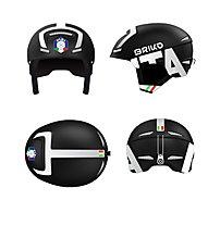 Briko Faito FISI - casco sci, Black/White