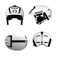 Briko Faito FISI - casco sci, White/Black