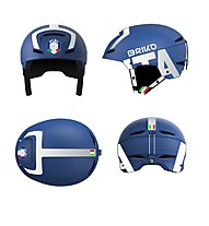 Briko Faito FISI - casco sci, Blue/White