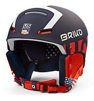 Briko Faito USSA - casco sci race, Blue/White