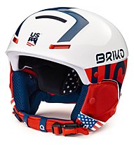 Briko Faito USSA - casco sci race, White/Blue