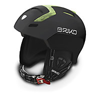 Briko Hierro - Helm, Matt Black/Green