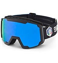 Briko Lava FISI - Skibrille, Blue