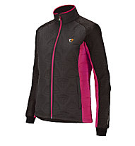 Briko PrimaLoft Pro Jacket Lady, Fumo/Black/Lava/Pink Flame