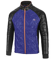 Briko Giacca fondo PrimaLoft Pro, Royal Night/Black/Orange