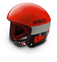 Briko Vulcano FIS 6.8 - Skihelm, Orange/Black