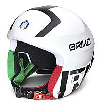 Briko Vulcano FIS 6.8 - FISI - casco sci, White