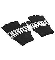 Brompton Logo Collection Knitted Fingerless - guanti bici, Black
