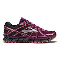 Brooks Adrenaline ASR 14 W - Trailrunning-Laufschuh - Damen, Black/Violet