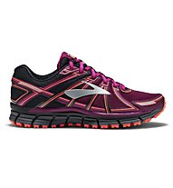 Brooks Adrenaline ASR 14 - scarpe trail running - donna, Black/Violet
